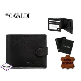 Skórzany portfel męski - 4U Cavaldi - P159