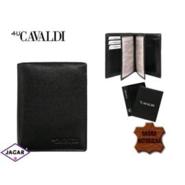 Skórzany portfel męski - 4U Cavaldi - P160