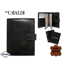 Skórzany portfel męski - 4U Cavaldi - P161