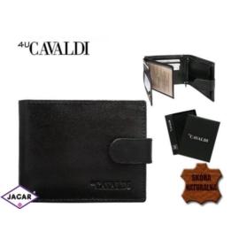 Skórzany portfel męski - 4U Cavaldi - P162