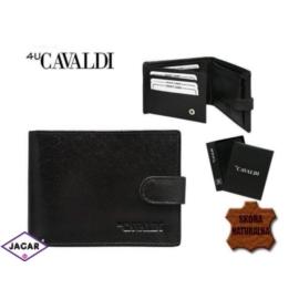 Skórzany portfel męski - 4U Cavaldi - P163