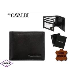 Skórzany portfel męski - 4U Cavaldi - P165