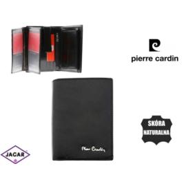 Skórzany portfel męski - Pierre Cardin - P168