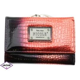 Skórzany portfel damski - NICOLE 46002-381 - P179