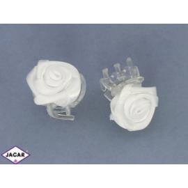 Szczypki do włosów róża - 1,5cm - 40szt. KŚ14