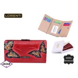 Portfel damski - LORENTI 55020-BT Red - P186