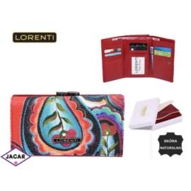 Portfel damski - LORENTI 55020-GR Red - P187