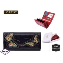 Portfel damski - LORENTI 64003-BT Black - P190