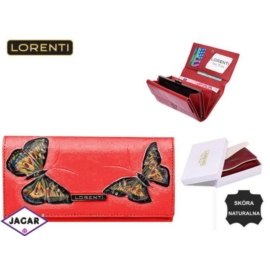 Portfel damski - LORENTI 64003-BT Red - P191