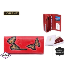 Portfel damski - LORENTI GD27-BT Red - P196