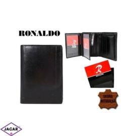 Skórzany portfel męski - Ronaldo mr03-ox - P201