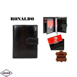 Skórzany portfel męski - Ronaldo mr04l-ox - P202
