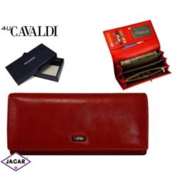 Portfel damski - CAVALDI - GD20-2 RED - P211