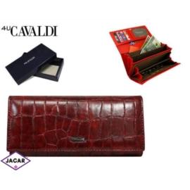Portfel damski - CAVALDI - GD20-2 RED-CRO-M - P212