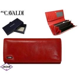 Portfel damski - CAVALDI - GD24-3 RED - P217