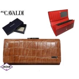 Portfel damski - CAVALDI - GD24-FO-1 CAMEL - P219