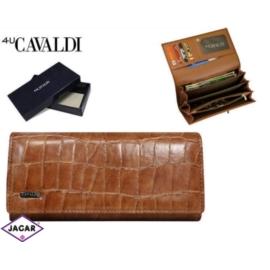 Portfel damski CAVALDI - GD27-3 CAMEL - P228
