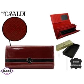 Portfel damski CAVALDI - H20-2-SAF RED - P231