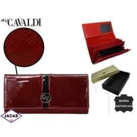 Portfel damski CAVALDI - H20-3-SAF RED - P232