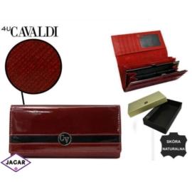 Portfel damski CAVALDI - H24-1-SAF RED - P235