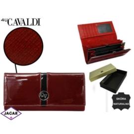 Portfel damski CAVALDI - H24-3-SAF RED - P236