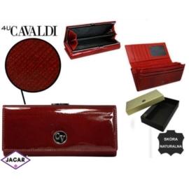 Portfel damski CAVALDI - H24-FO-1-SAF RED - P237