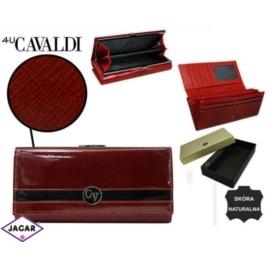Portfel damski CAVALDI - H24-FO-2-SAF RED - P238