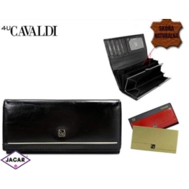 Portfel damski CAVALDI - P24-2 BLACK - P244