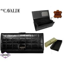 Portfel damski CAVALDI - P24-FO-3 BLACK - P252