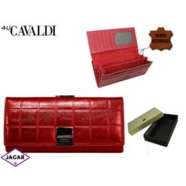 Portfel damski CAVALDI - P24-FO-3 RED - P253
