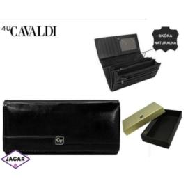 Portfel damski CAVALDI - P27-1 BLACK - P254