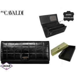 Portfel damski CAVALDI - P27-3 BLACK - P256