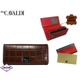 Portfel damski CAVALDI - P27-3 BROWN - P257