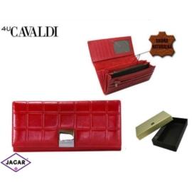 Portfel damski CAVALDI - P27-3 RED - P258