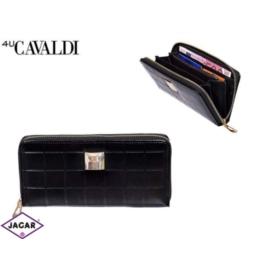 Portfel damski CAVALDI - SF1701 BLACK - P262