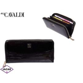 Portfel damski CAVALDI - SF1702 BLACK - P266