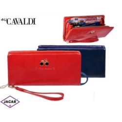 Portfel damski CAVALDI - GRD-1108-SH RED - P280