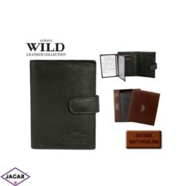 Skórzany portfel Always Wild - n890l-ccf - P285