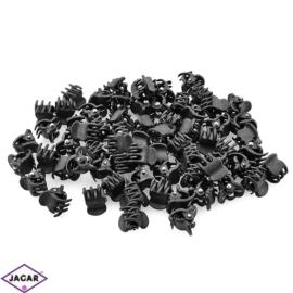 Żabki do włosów kauczukowe - 1cm 100szt/op ZW55