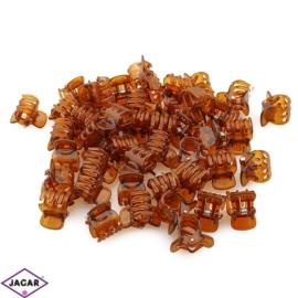 Żabki do włosów plastikowe - 1,5cm 100szt/op ZW58