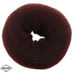 Wypełniacz do włosów donut - brąz - 9cm - WYP41