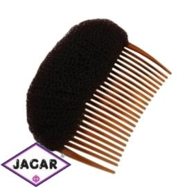 Wypełniacz do włosów grzebyk - brąz - 9cm - WYP42