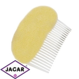 Wypełniacz do włosów grzebyk - blond - 9cm - WYP43