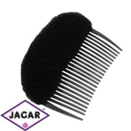Wypełniacz do włosów grzebyk - czarny- 9cm - WYP44