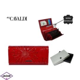 Portfel damski CAVALDI - PN24 SF RED - P291