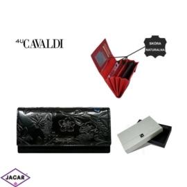 Portfel damski CAVALDI - PN27 FL BLACK - P292