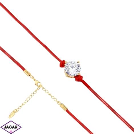 Bransoletka pozłacana Xuping - 20cm - BP1325