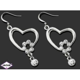 Kolczyki ślubne - kryształy - 5,5cm SK156