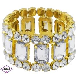 Bransoletka z kryształami - BRA565