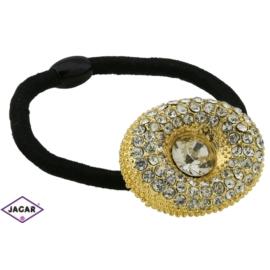 Ozdobna gumka do włosów - OG120 gold